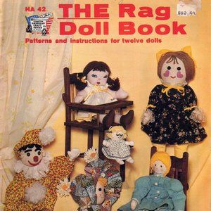 The Rag Doll Book: Patterns and instructions